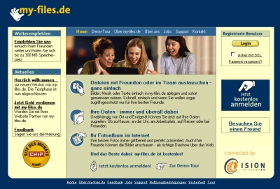 Homepage my-files.de